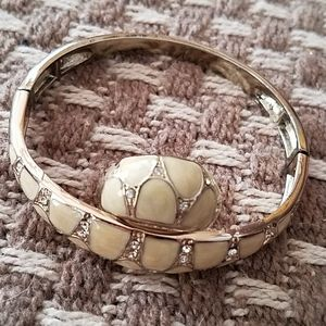 Ring and matching bracelet